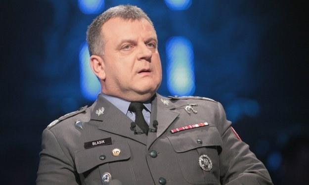 Gen. Andrzej Błasik, fot. Wojciech Kurczewski /Agencja FORUM
