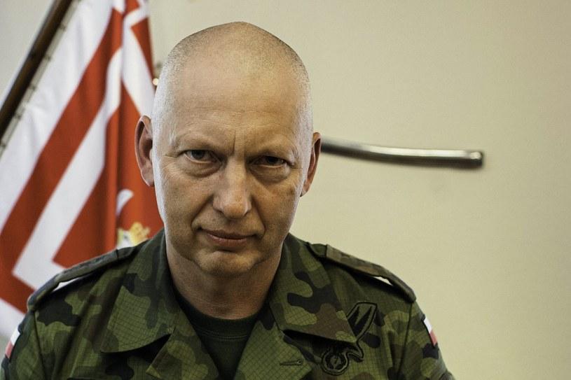 Gen. broni Mirosław Różański /Dawid Zuchowicz /