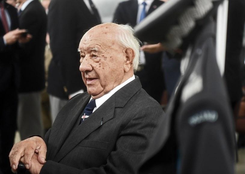 Gen. bryg, pilot Ludwik Krempa /Marek Lasyk  /Reporter