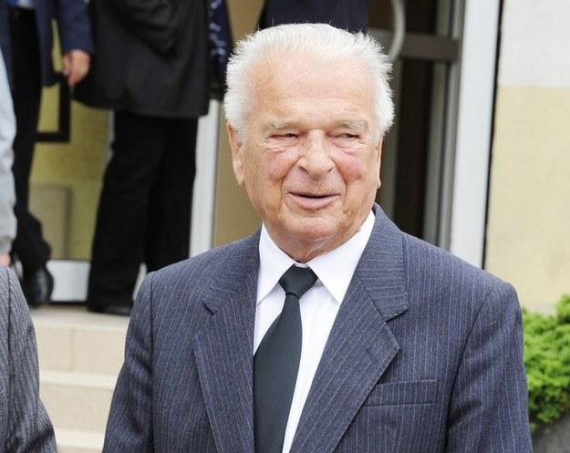 Gen. Czesław Kiszczak na zdjęciu z tego roku /Wojciech Laski /East News