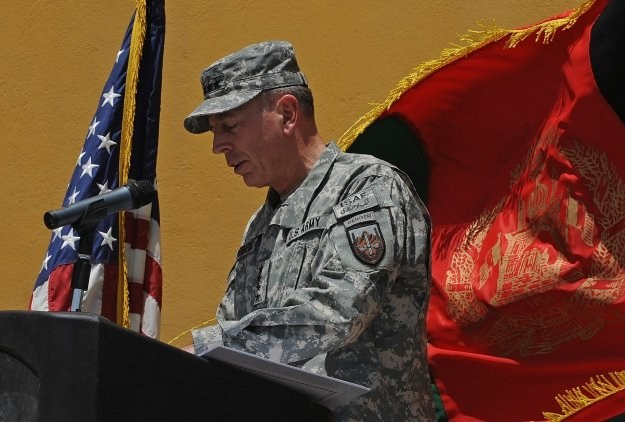 Gen. David Petraeus /AFP