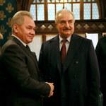 Gen. Haftar opuścił Moskwę. Nie podpisał porozumienia o rozejmie w Libii