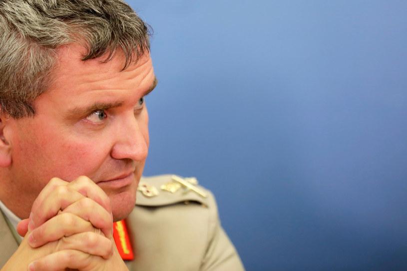 Gen. James R. Everard /REUTERS/Ints Kalnins  /Agencja FORUM