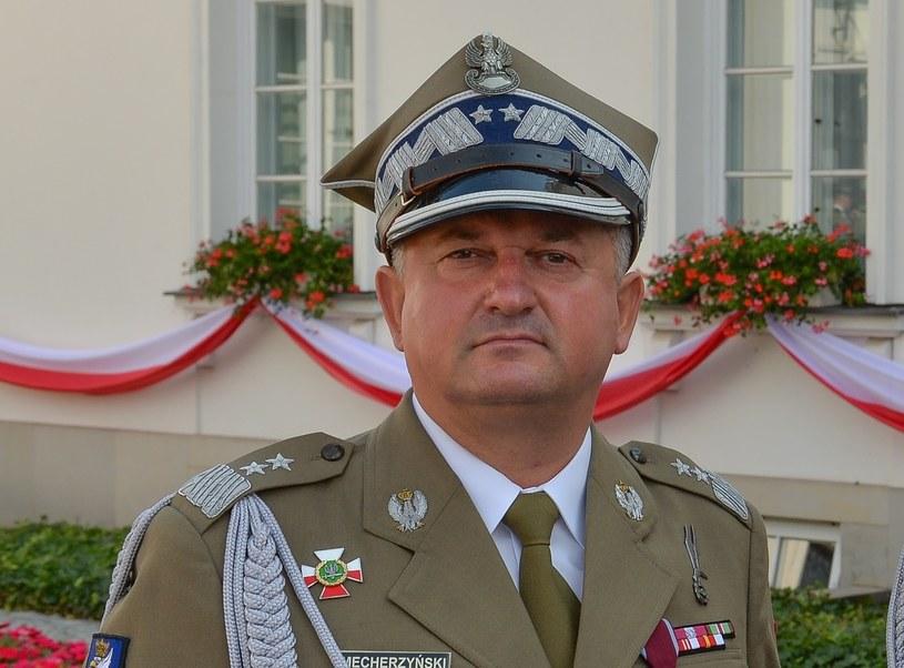 Gen. Marek Mecherzyński /Gerard /Reporter