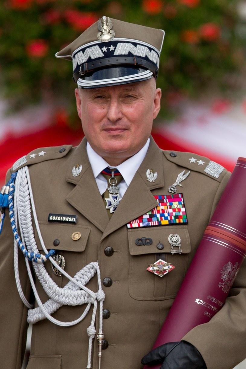 Gen. Marek Sokołowski /Andrzej Iwańczuk /Reporter
