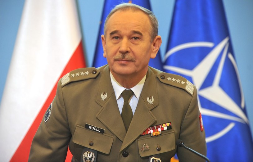 gen. Mieczysław Gocuł /Witold Rozbicki/REPORTER /East News