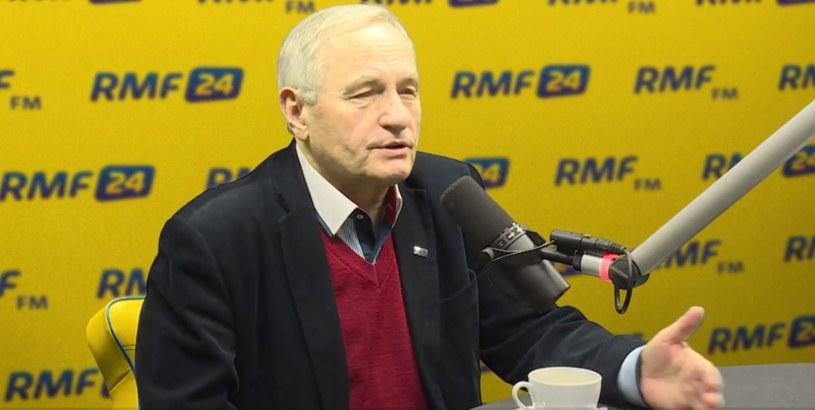 Gen. Stanisław Koziej w RMF FM /RMF FM