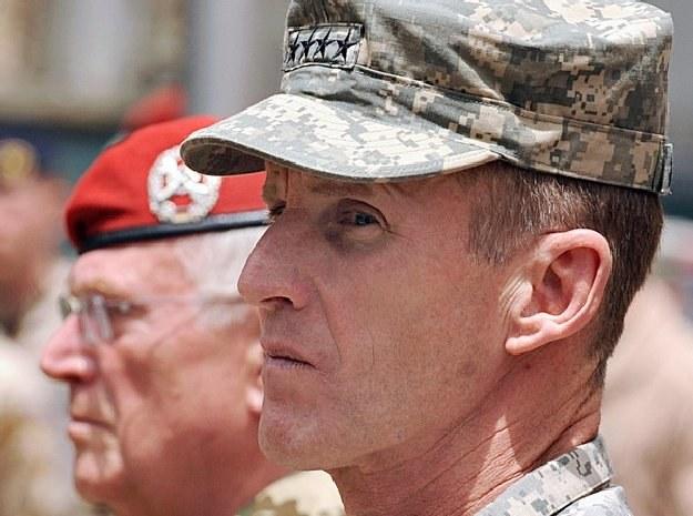 Gen. Stanley McChrystal /AFP