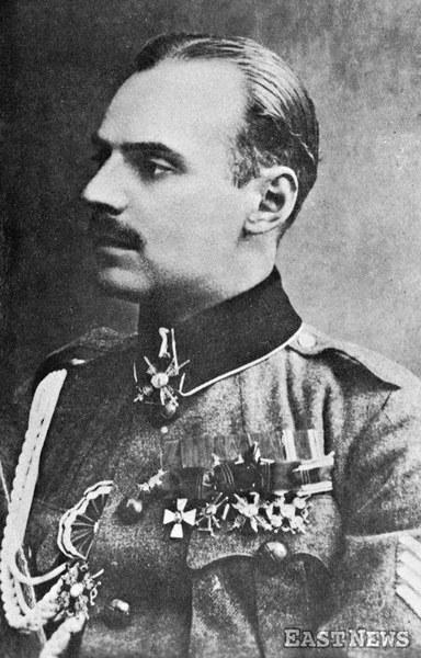 Władysław Anders po otrzymaniu przydziału do sztabu gen. Józefa Dowbor-Muśnickiego, 1918