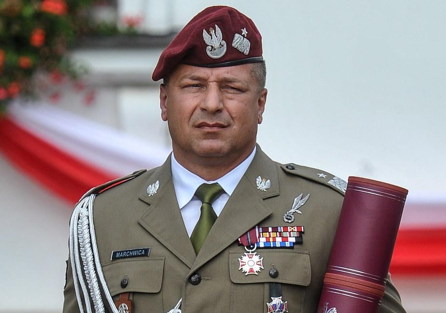 Gen. Wojciech Marchwica został p.o. Szefa Inspektoratu Wojsk Specjalnych /Marcin Obara /PAP