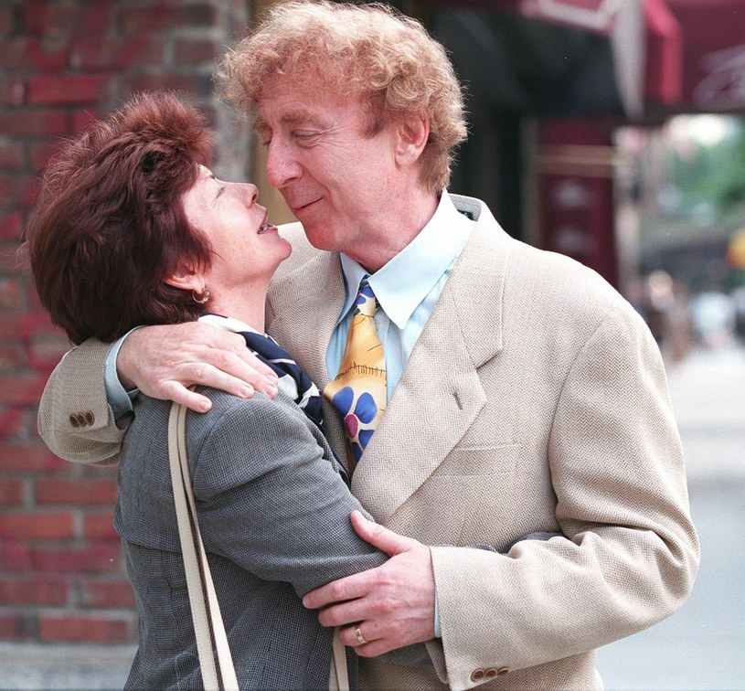 Gene Wilder z żoną Karen /East News
