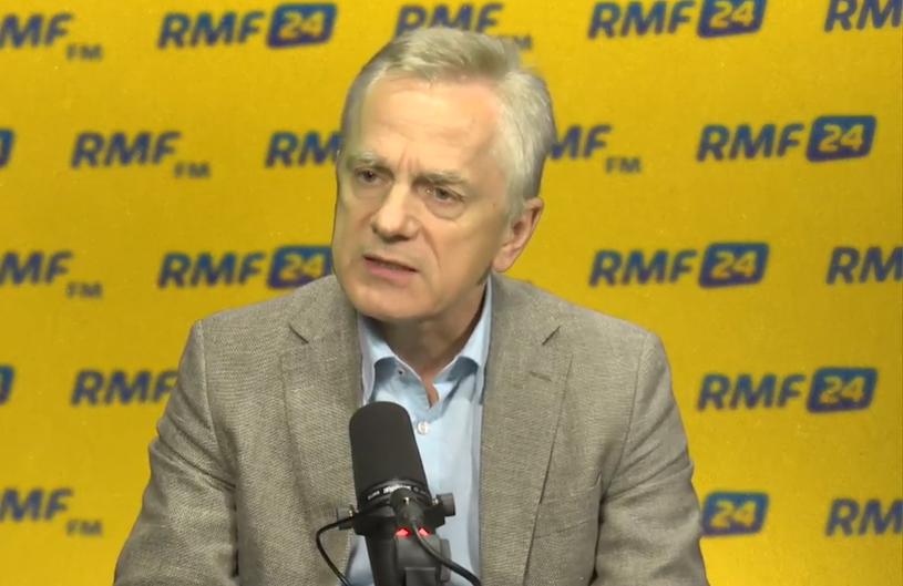 Generał Adam Rapacki w RMF FM /RMF