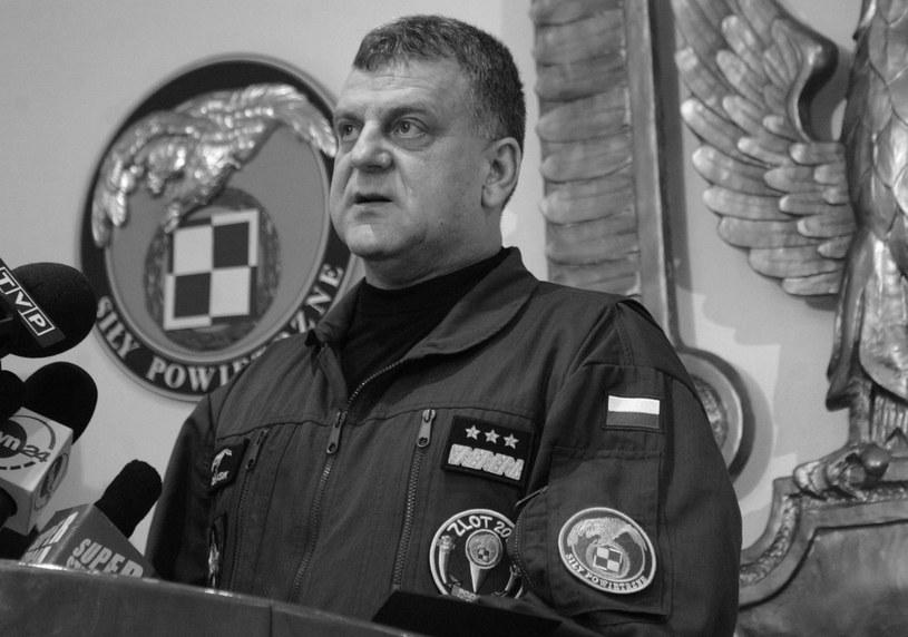 Generał Andrzej Błasik /Witold Rozbicki /Reporter