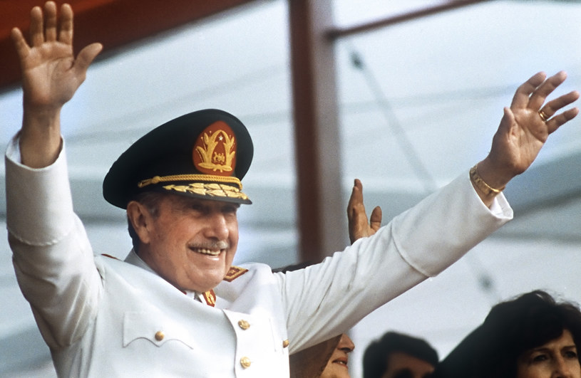 Generał Augusto Pinochet /AFP