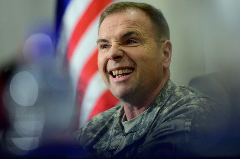 Generał Ben Hodges /AFP