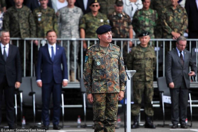 Generał broni Manfred Hofmann /Łukasz Szelemej /East News