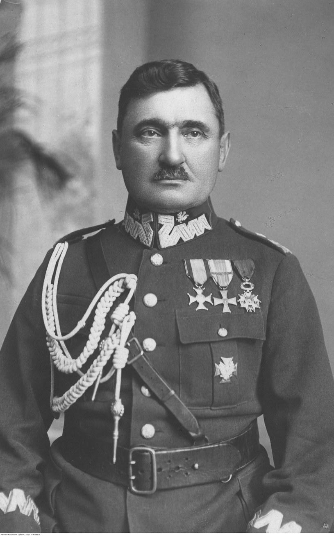 Generał brygady Stanisław Taczak /Z archiwum Narodowego Archiwum Cyfrowego
