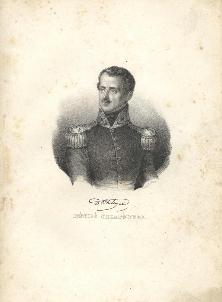 Generał Dezydery Chłapowski (litografia; ryt. Villain, Paryż 1832-36) /Muzeum Literatury /East News