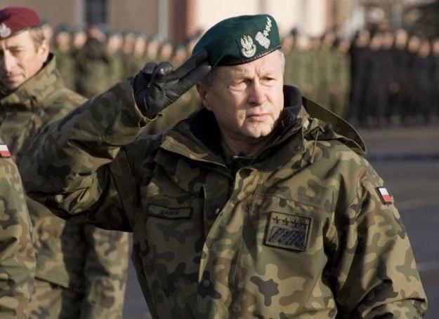 Generał Franciszek Gągor/fot. Mieszko Stanisławski /Reporter