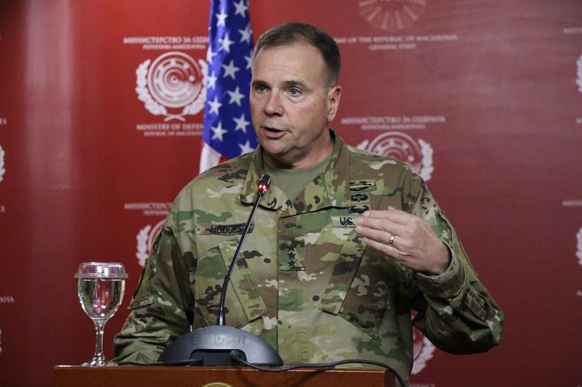 Generał Frederick Hodges, dowódca naczelny sił lądowych USA w Europie /Getty Images