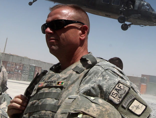 Generał Frederick Hodges nie ma złudzeń co do celów polityki Władimira Putina fot. Ed Jones /AFP