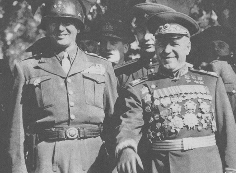 beliefs of general george s patton Patton was nicknamed 'old blood and guts' because of his enthusiasm for battle, and general eisenhower joked that he probably wore his combat helmet in bed he certainly wore an ivory-handled colt revolver everywhere and put on what he called his 'warrior face' to deliver obscene and profane.