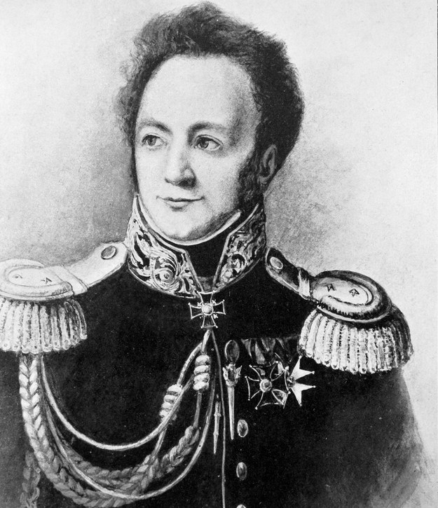Generał Ignacy Prądzyński (1792-1850) /reprodukcja Piotr Mecik /Agencja FORUM