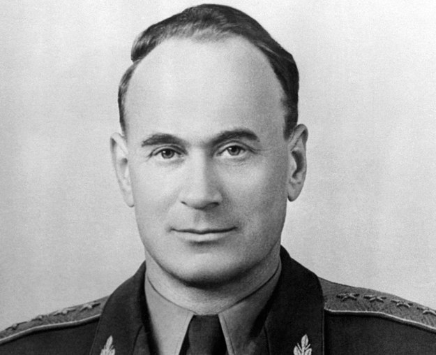 Generał Iwan Sierow odpowiedzialny jest za mord polskich oficerów w Katyniu /INTERCONTIENTALE /AFP