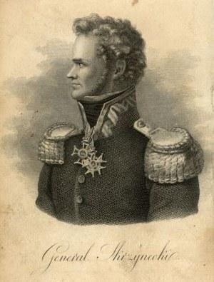Generał Jan Zygmunt Skrzynecki (1787-1860), wódz naczelny powstania listopadowego /Biblioteka Narodowa
