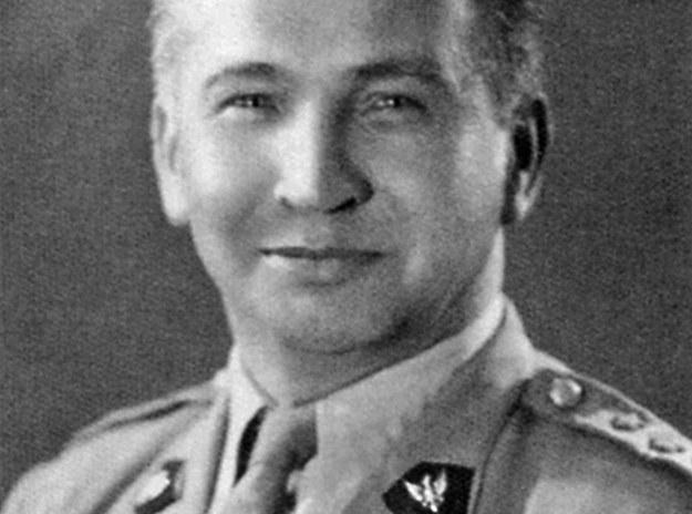 Generał Leopold Okulicki /reprodukcja Marek Skorupski /Agencja FORUM