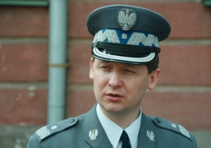 Generał Marek Papała na zdjęciu archiwalnym z 1996 r. /Bartłomiej Zborowski /Agencja SE/East News