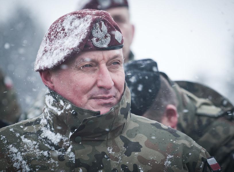 Generał Marek Sokołowski /Michał Tuliński /FORUM