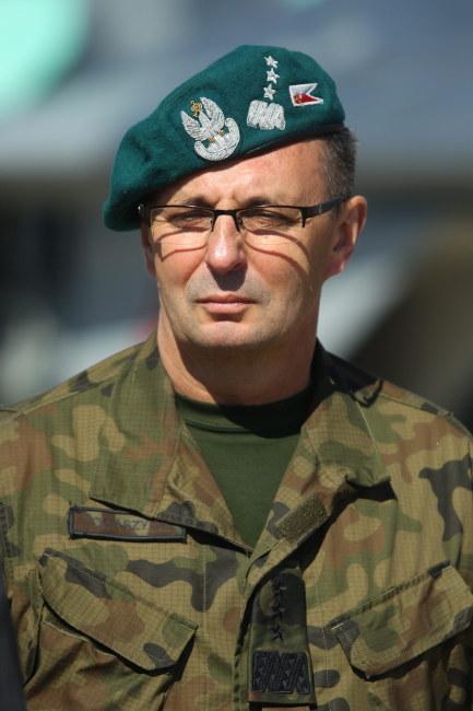 Generał Marek Tomaszycki /PAP/Piotr Wittman /PAP