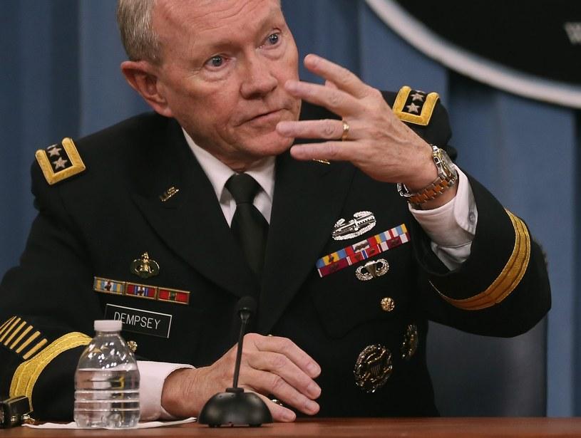 Generał Martin Dempsey /AFP