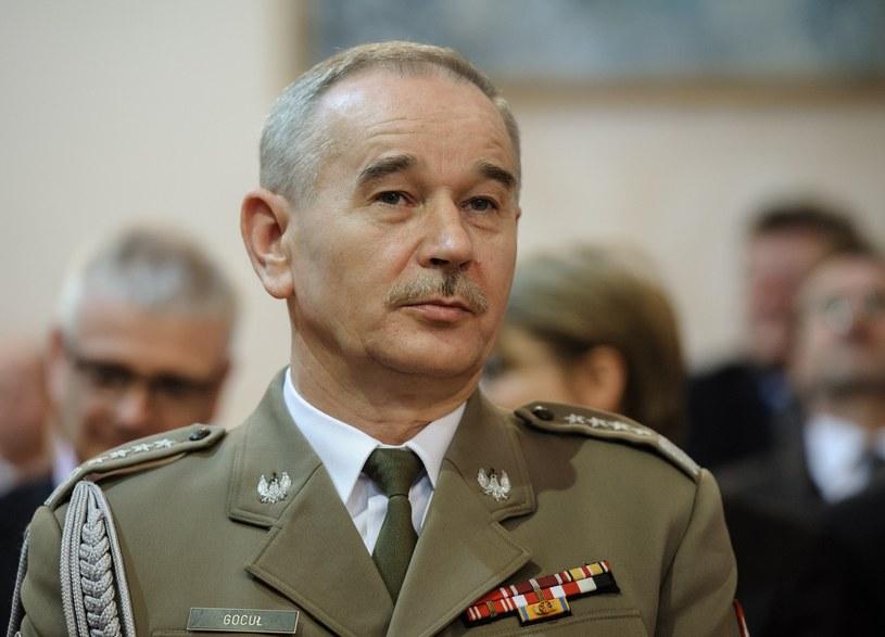 Generał Mieczysław Gocuł /Rafal Oleksiewicz /Reporter