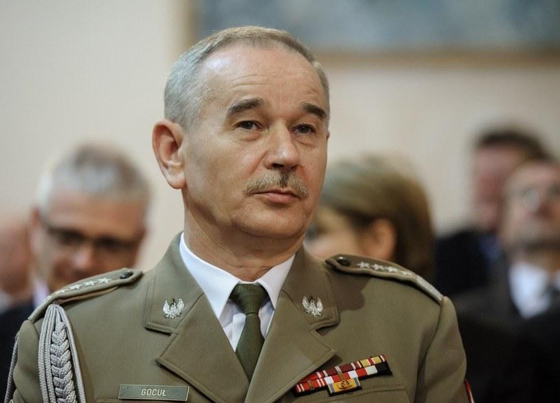 Generał Mieczysław Gocuł /Rafał Oleksiewicz /Reporter