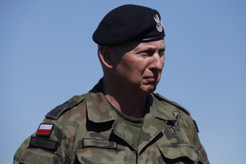 Generał Mirosław Różański /Reporter