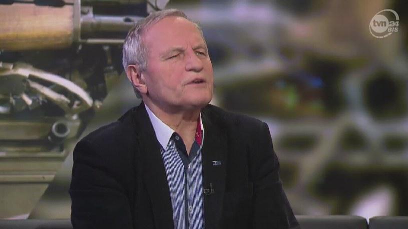 Generał Stanisław Koziej /TVN24/x-news