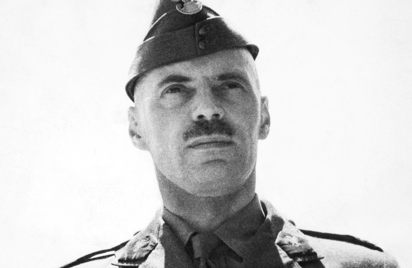 Generał Władysław Anders, fot. The Granger Collection, New York /brak /Agencja FORUM