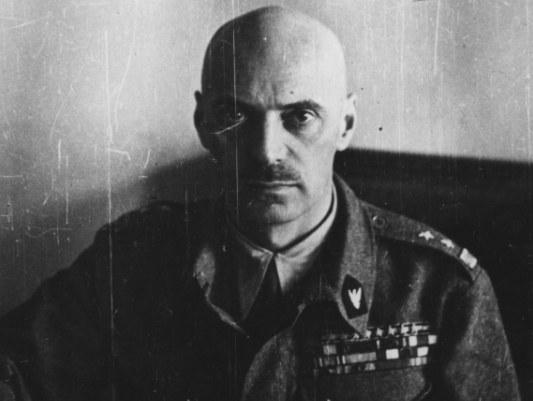 Generał Władysław Anders uratował kilka tysięcy Żydów ze Związku Sowieckiego /Z archiwum Narodowego Archiwum Cyfrowego