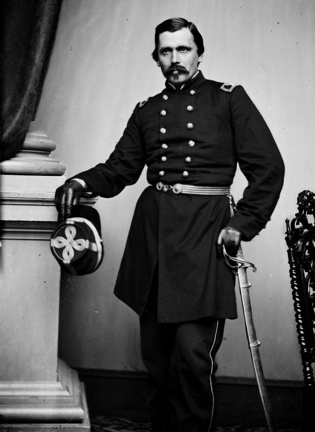 Generał Włodzimierz Krzyżanowski /źródło: Biblioteka Kongresu USA /INTERIA.PL