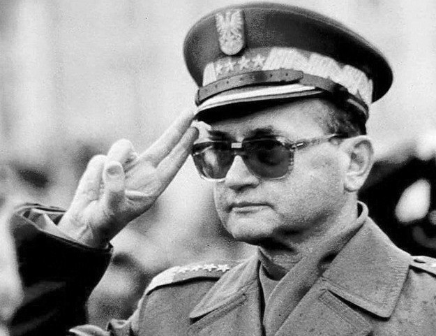 """Generał Wojciech Jaruzelski mówił o """"poziomie udziału w zjednoczonych siłach obrony socjalizmu"""" /AFP"""