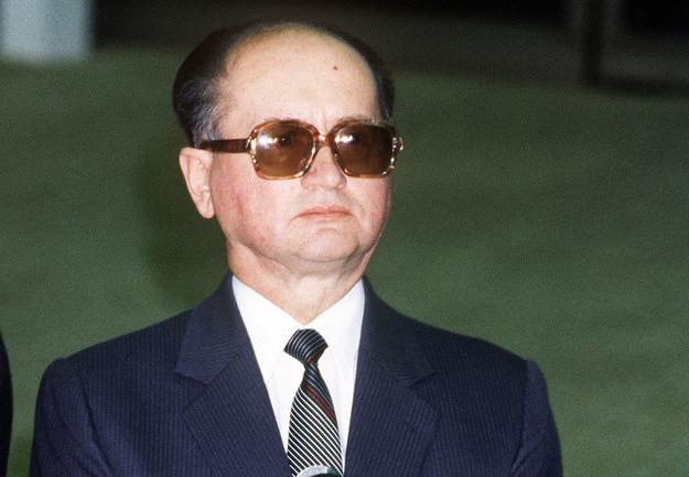 Generał Wojciech Jaruzelski skupił pełnię władzy /DOMINIQUE AUBERT /AFP