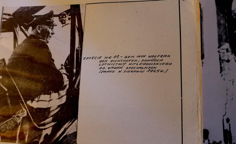 Generał Wolfram von Richthofen w dokumentach śledztwa Oddziałowej Komisji Ścigania Zbrodni przeciwko Narodowi Polskiemu w Łodzi /INTERIA.PL