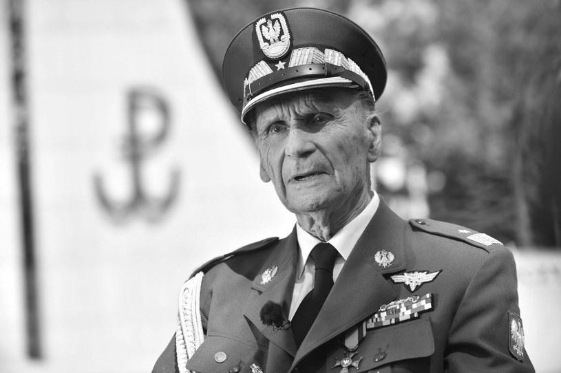 """Generał Zbigniew Ścibor-Rylski """"Motyl"""" /Jacek Turczyk /PAP"""