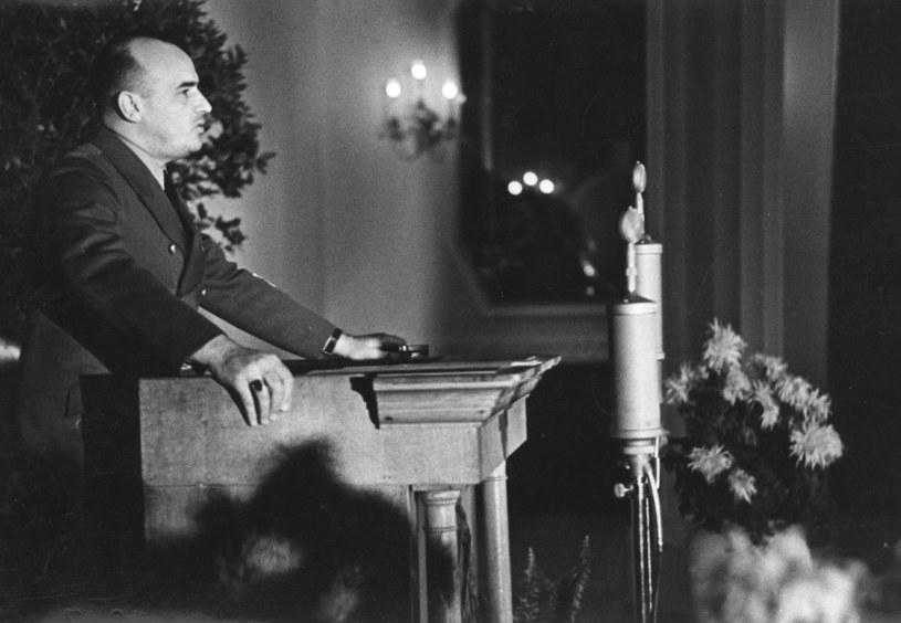 Generalny gubernator Hans Frank /Z archiwum Narodowego Archiwum Cyfrowego