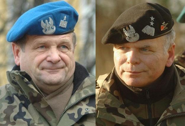 Generałowie Zygmunt Duleba i Paweł Lamla, fot. T. Szatkowski, S. Laszewski /Reporter