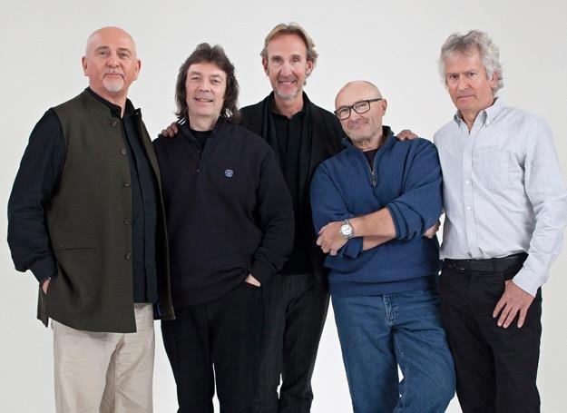 Genesis 2014 (od lewej): Peter Gabriel, Steve Hackett, Mike Rutheford, Phil Collins i Tony Banks /Oficjalna strona zespołu