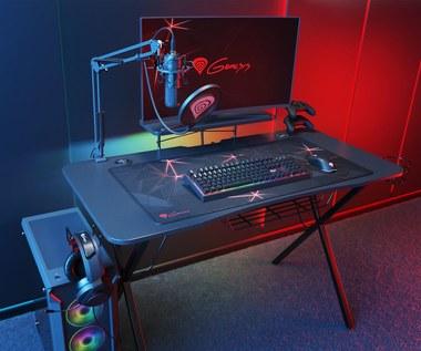 Genesis wprowadza do oferty biurko dla gracza -  Holm 300 RGB