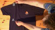 Genialne: Poskładaj koszulkę w 2 sekundy!